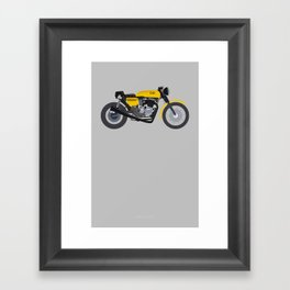 Cafe Bike Framed Art Print