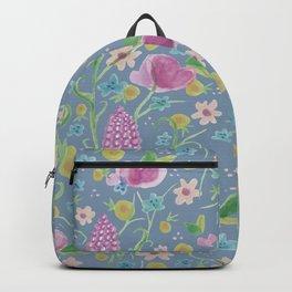 Grape Hyacinth Blue Backpack