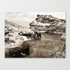 Boscastle, village Canvas Print