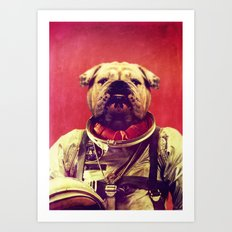 Mars Rover Art Print