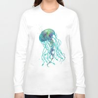 medusa Long Sleeve T-shirts featuring Medusa  by Daniac Design