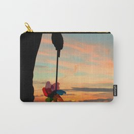 To see which way the wind blows Carry-All Pouch