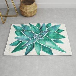 Aloe Vera – Turquoise Palette Rug