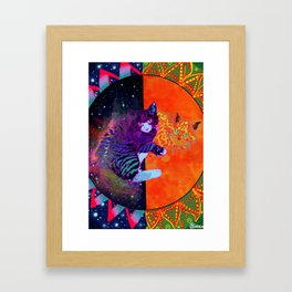 Snuggs Framed Art Print
