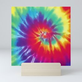 Tie Dye Swirl Pattern Mini Art Print