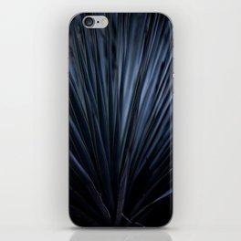 Blue Straws 2 iPhone Skin