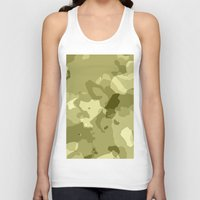 camouflage Tank Tops featuring Camouflage  by Portugal Design Lab