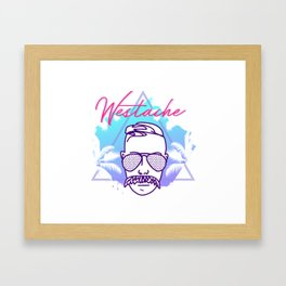 Westache in Miami Framed Art Print