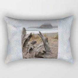 Time To Log Off Rectangular Pillow