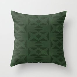 Wild (Green) Throw Pillow