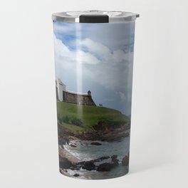Farol da Barra Salvador Brazil Travel Mug
