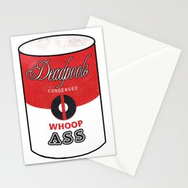 Deadpool's Can of Whoop-Ass! Stationery Cards