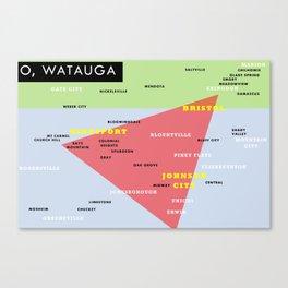 O' Watauga Canvas Print