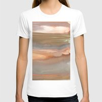 agate T-shirts featuring Peach Agate by Amie Amyotte