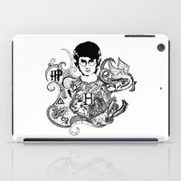 harry potter iPad Cases featuring Harry Potter by Ink Tales