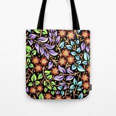 Filigree Flora Tote Bag