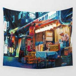 By Lantern Light Wall Tapestry