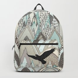 mountains high Backpack