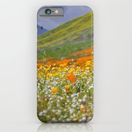 Golden Meadow of Poppies by Reay of Light Photography iPhone Case