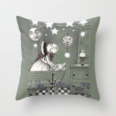 When it's Night Outside Throw Pillow