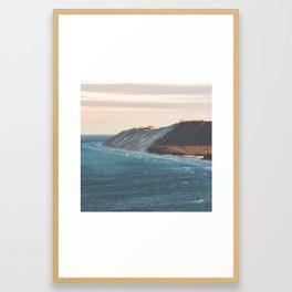Sleeping Bear Dunes Sunrise | Empire, Michigan | John Hill Photography Framed Art Print