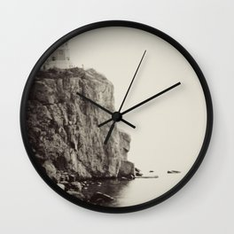 Split Rock Lighthouse in Duluth *Original photography Wall Clock
