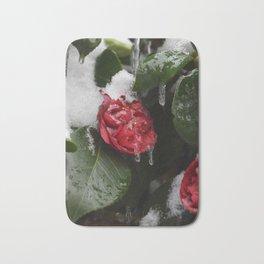 Frozen in Time Bath Mat