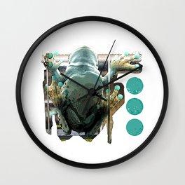Frog George Wall Clock
