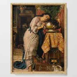 William Holman Hunt - Isabella and the Pot of Basil Serving Tray