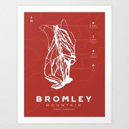Bromley Mountain Art Print
