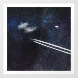 Star Traveller Art Print