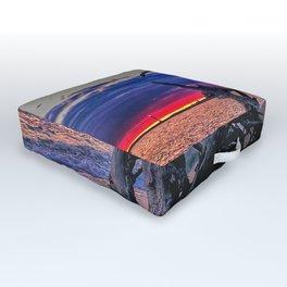 Driftwood On The Beach Outdoor Floor Cushion