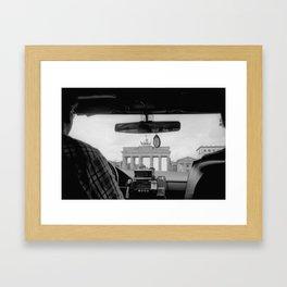Brandenburger Tor Framed Art Print