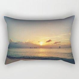 Fading Light Rectangular Pillow