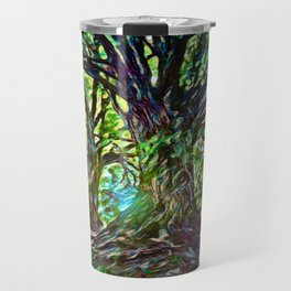 Bur Oak Canopy Dream | Painting  Travel Mug