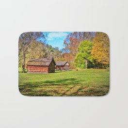 Johnson City Tennessee Cabins Bath Mat