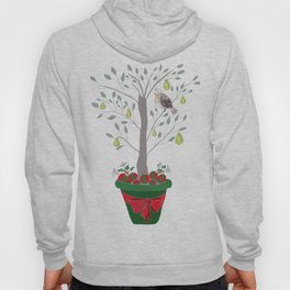 12 Days of Christmas Partridge in a Pear Tree Hoody