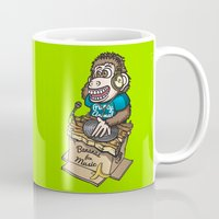 ape Mugs featuring DJ Ape by leondesigns