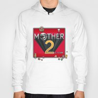earthbound Hoodies featuring Alternative Mother 2 / Earthbound Title Screen by Studio Momo╰༼ ಠ益ಠ ༽