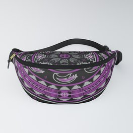Bear Spirit (Purple) Fanny Pack