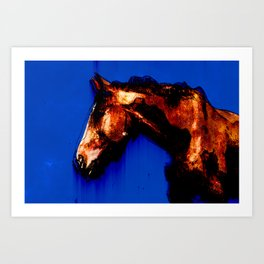 Cute Horse Tshirts Gifts for Horse Lover Art Print
