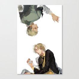 Zoro and Sanji Canvas Print