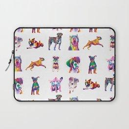 Rainbow Dogs Everywhere Laptop Sleeve