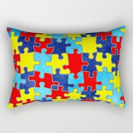 Autism Awareness Rectangular Pillow