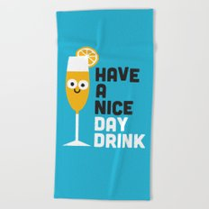 Thanks a Brunch Beach Towel