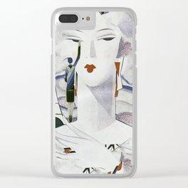 Summer In Paris Clear iPhone Case