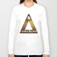 laura palmer Long Sleeve T-shirts featuring Bastille #1 Laura Palmer by Thafrayer
