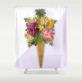 PINEAPPLE ICE CREAM Shower Curtain