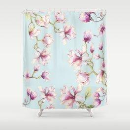 Delicate Magnolia Shower Curtain