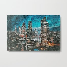 Streets of London Metal Print